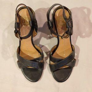DV Dolce Vita Wedge Black Heels